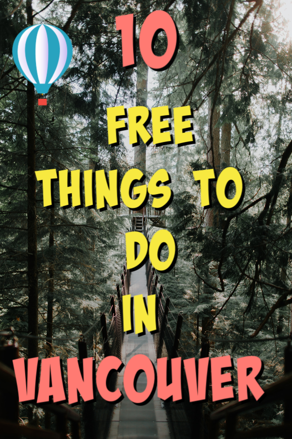 Free things to do in vancouver