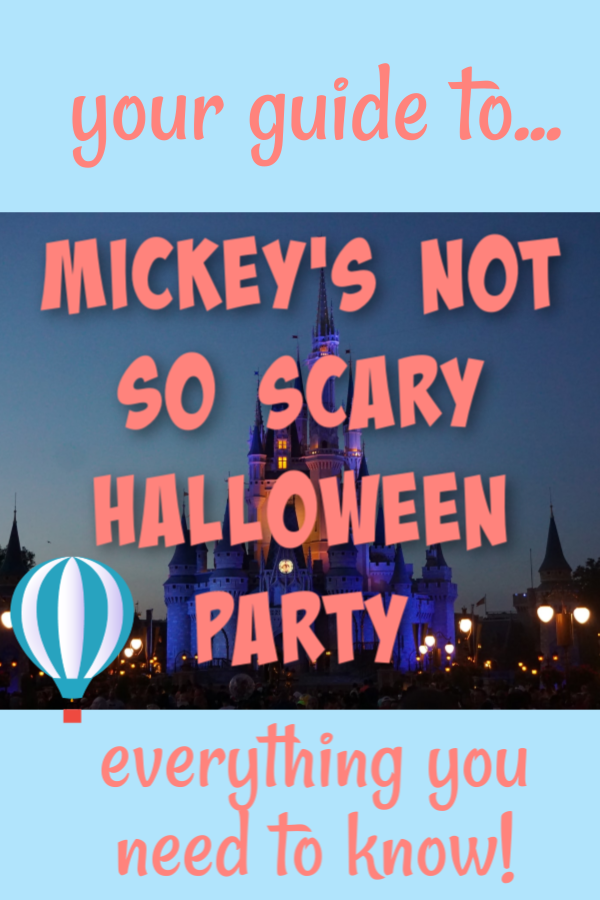 halloween at disney world