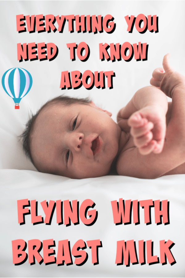 flying with breast milk