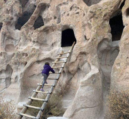 bandelier national monument cave