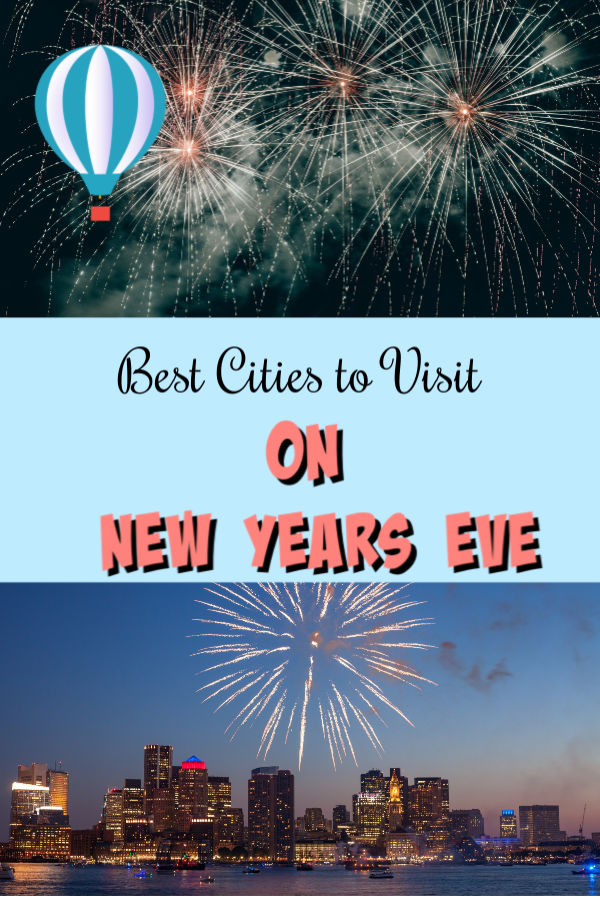 best places to go for New Year's in the USA