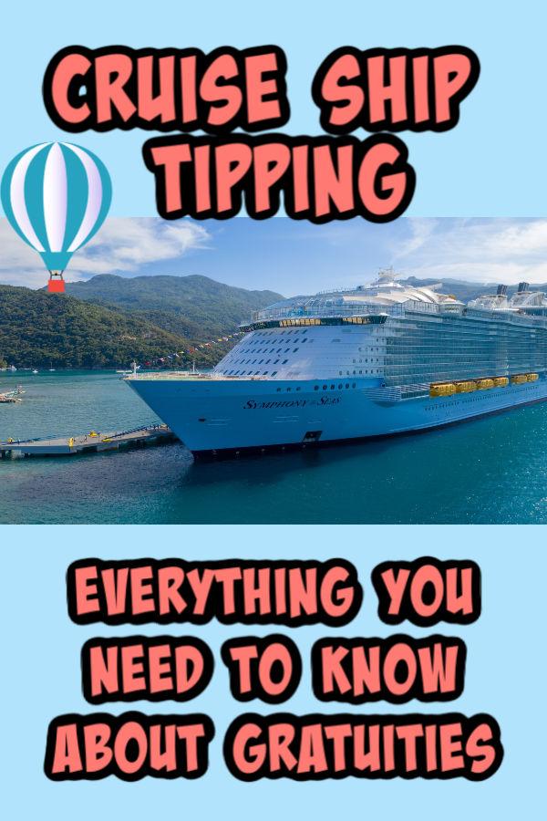 cruise ship tipping