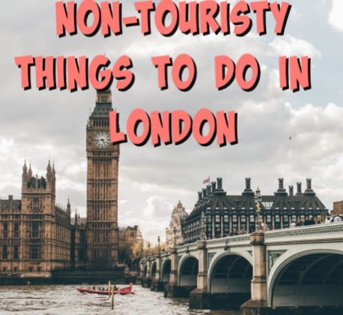 non touristy things to do in london