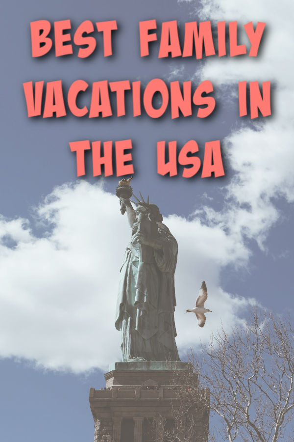 family vacations in the USA