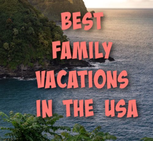 family holidays in the USA