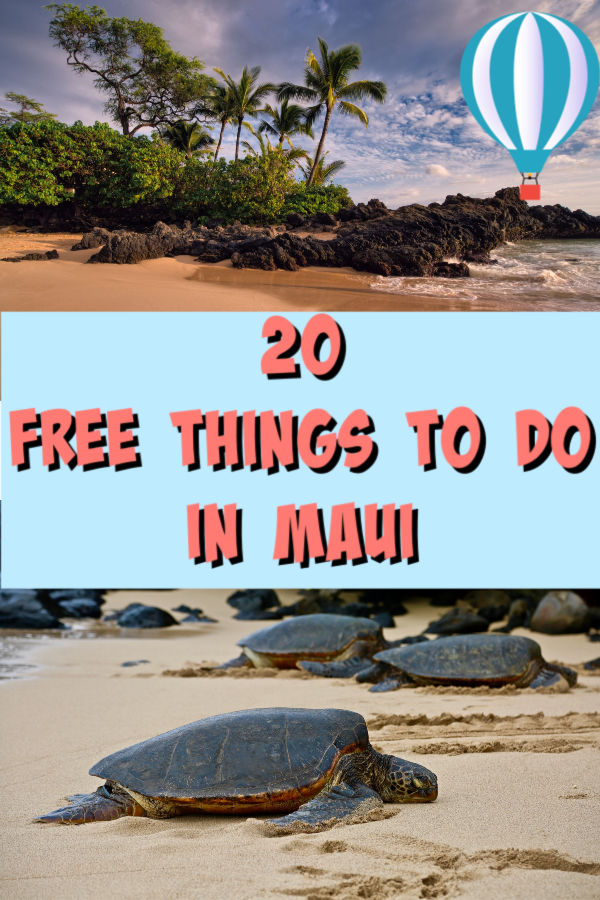 20 free things to do in maui