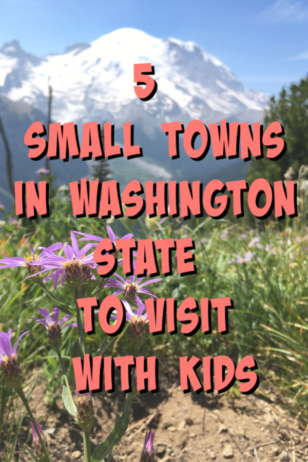 small towns in washington