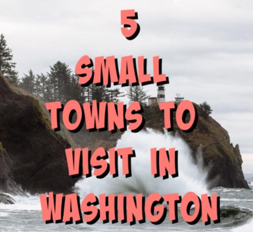small towns washington