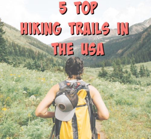 best hiking trails graphic