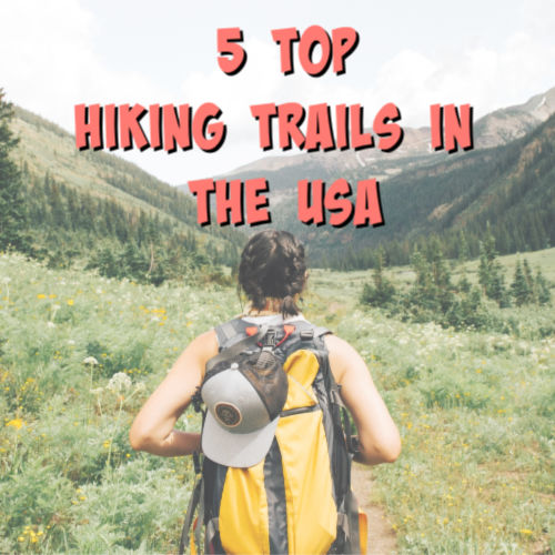 best hiking trails graphic
