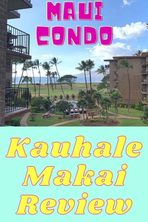 Kauhale Makai village by the sea maui home and condo. View from the lanai looking out toward the ocean.