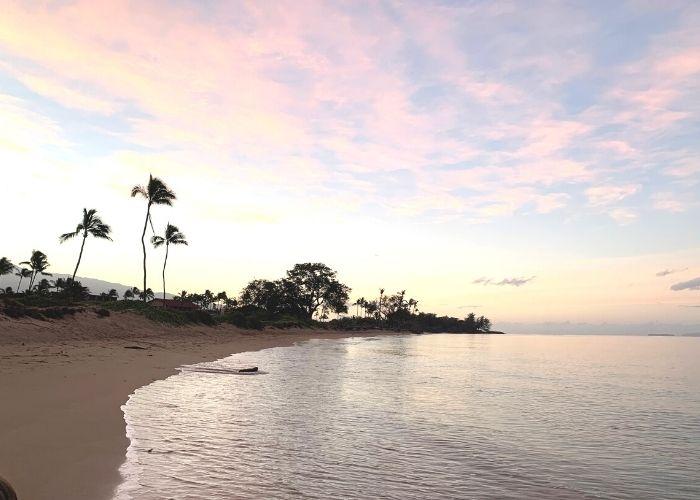 view of the beach near kauhale makai condo in maui