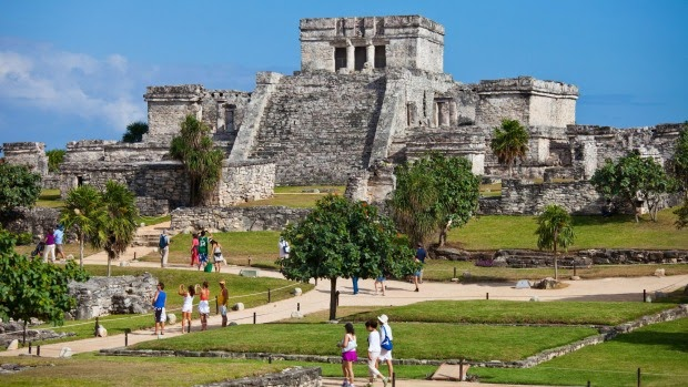 unique places to visit in mexico: mayan ruins