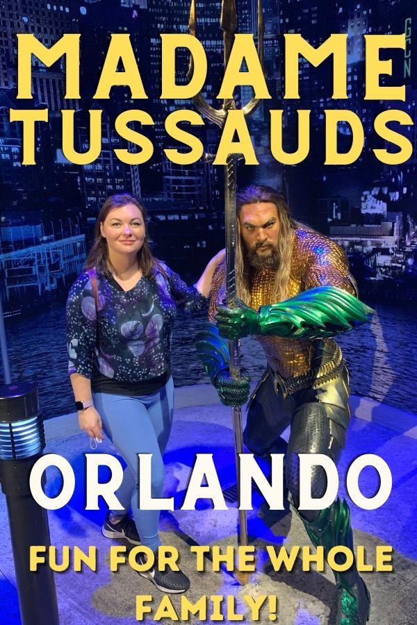 Madame Tussauds Orlando. Jason Momoa wax figure.