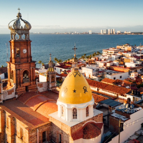City view in Puerto Vallarta