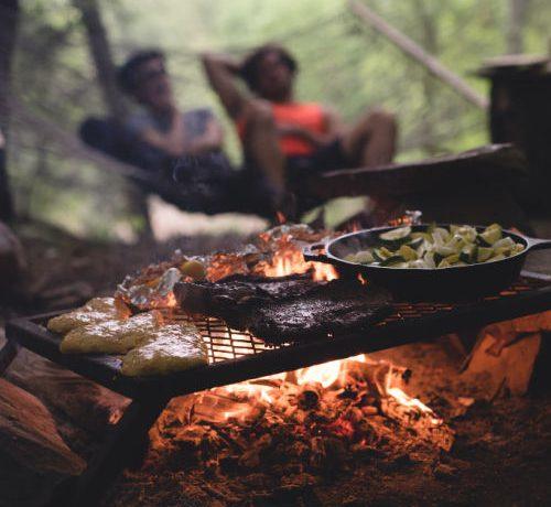 Easy camping recipes.