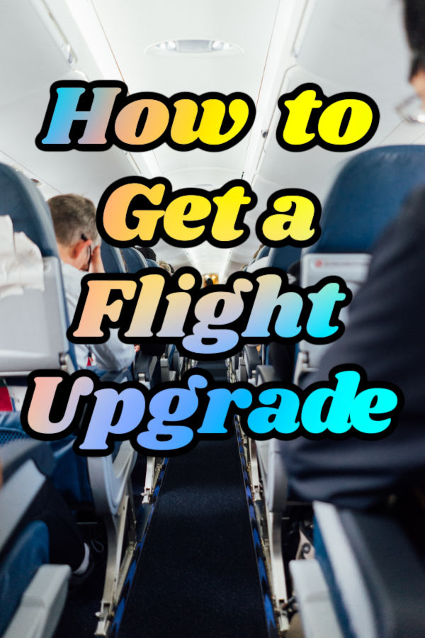 How to get a flight upgrade graphic.