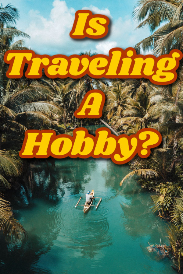 Is traveling a hobby? Graphic