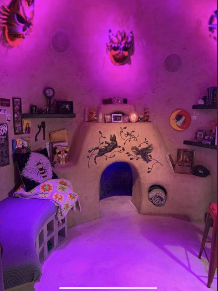 Bedroom set at Omega Mart.